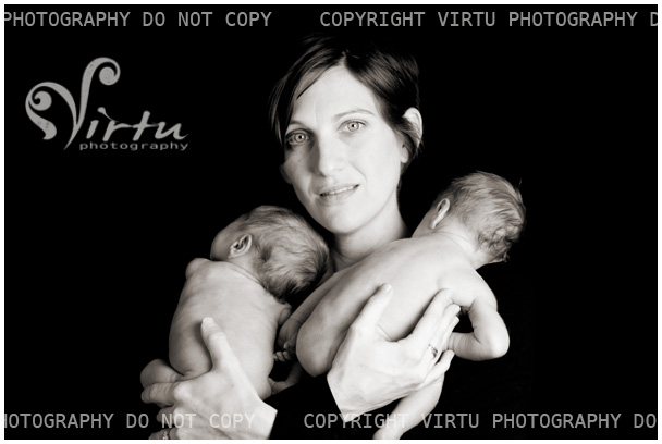 Austin Newborn Twin Photographer