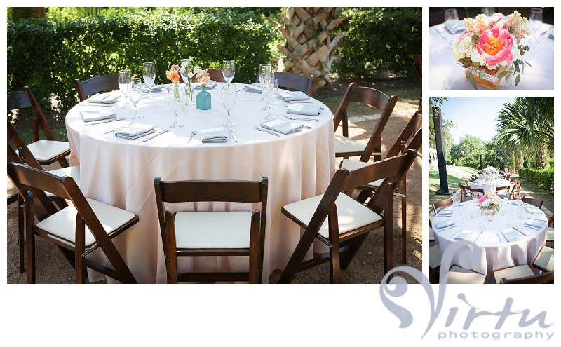 Outdoor Table Decor Wedding