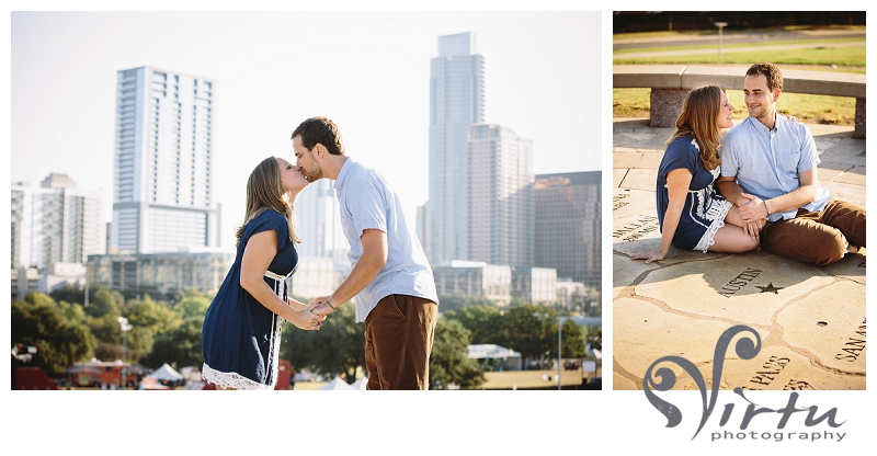 austin skyline engagement