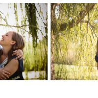 engagement session willow tree