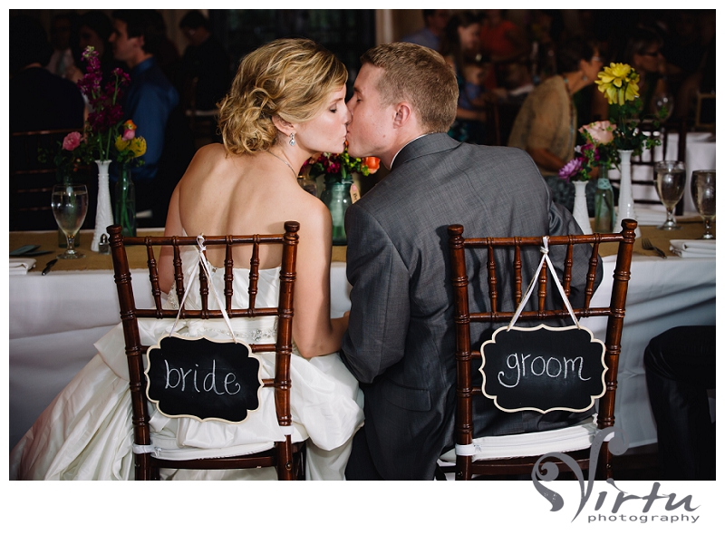 bride and groom chalkboard signs