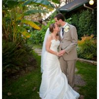 hummingbird house ausint bride and groom