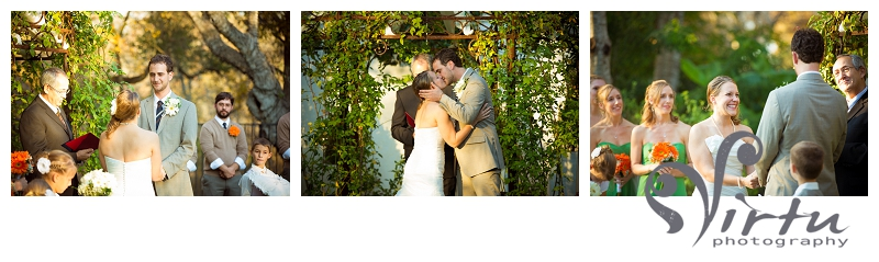 bride and groom ceremony pictures hummingbird house austin tx