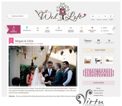 virtu photography published on WedLoft