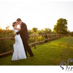 bride groom sunset ut golf club